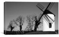 Sail shadow on Ashton windmill
