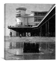 Grand Pier @ Weston-Super-Mare, Canvas Print