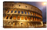 The Colosseum, Canvas Print