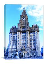 Iconic Royal Liver Building