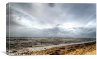 Stormy Day, Canvas Print