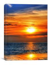 Crosby Beach, Canvas Print