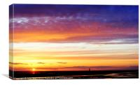 Beautiful Sunset, Canvas Print