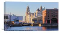 Pier Head, Liverpool, Canvas Print