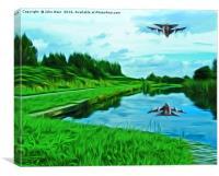 Tornado Reflection, Canvas Print