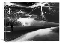 Storm (Digital Art), Canvas Print