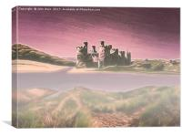 Conway Castle (Digital Art), Canvas Print