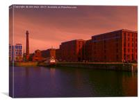 Merseyside Maritime Museum (Digital Art), Canvas Print