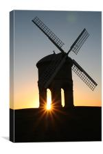Chesterton Mill Sunrise, Canvas Print