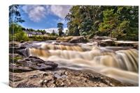 Waterfall of Dochart, Canvas Print