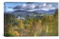 Blair Atholl Castle, Canvas Print