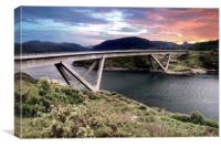 Kylesku Bridge, Canvas Print