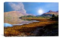 Loch Leven Glencoe, Canvas Print