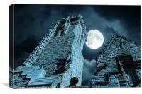 Wallace monument, Canvas Print