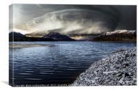 Loch Laggan, Canvas Print