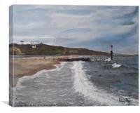 Steamer Point, Canvas Print