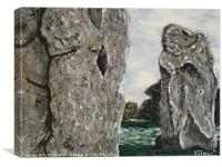 Avebury, Canvas Print