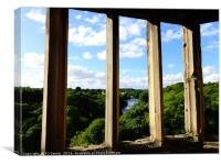 Through Richard III's Window, Canvas Print