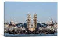 London landmarks, Canvas Print