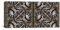 Big Ben abstract 5, Canvas Print