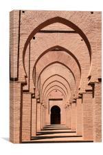 Mosque arches 2, Canvas Print