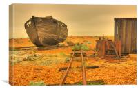The End of the Line, Canvas Print