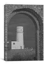 Norfolk Lighthouse, Canvas Print