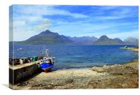 DOWN AT ELGOL, Canvas Print