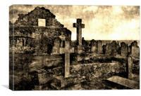 OL'STONEHAVEN CHURCH, Canvas Print