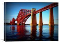 froth rail bridge, Canvas Print