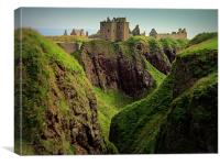 dunnottar castle, Canvas Print