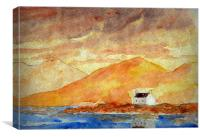 lone house, Canvas Print
