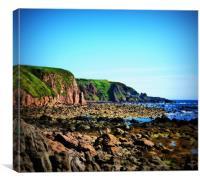 scotlands east coast, Canvas Print
