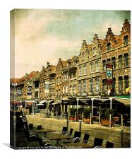 tournai belgium, Canvas Print