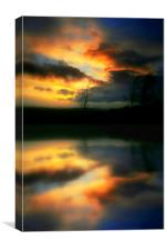 one nite in october, Canvas Print