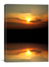 natures reflection, Canvas Print