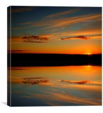 last light, Canvas Print