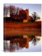 craigmillar castle, Canvas Print