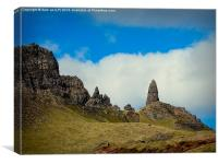 olman of storr, Canvas Print