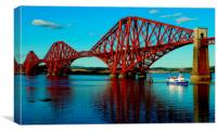 down at queensferry, Canvas Print