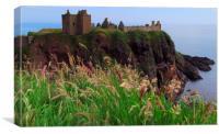 dunnottar castle   , Canvas Print