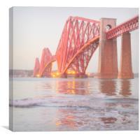 forth rail bridge , Canvas Print
