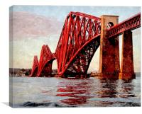 down at south queensferry - scotland, Canvas Print