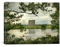 threave castle, Canvas Print