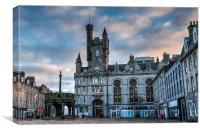 Aberdeen Castlegate Sunrise, Canvas Print