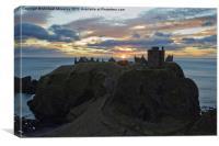 Dunnottar Castle, Sunrise, Canvas Print