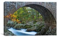Bridge of Feugh, Banchory, Canvas Print