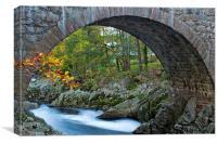 Bridge of Feugh, Banchory, Canvas Print