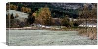 Frosty Morning at Spittal of Glenshee, Canvas Print