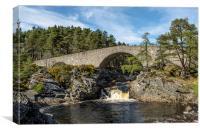Garve Bridge, Little Garve, Canvas Print